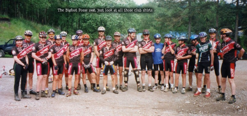 Bigfoot MBC - The mountain bike club Graham co-founded.