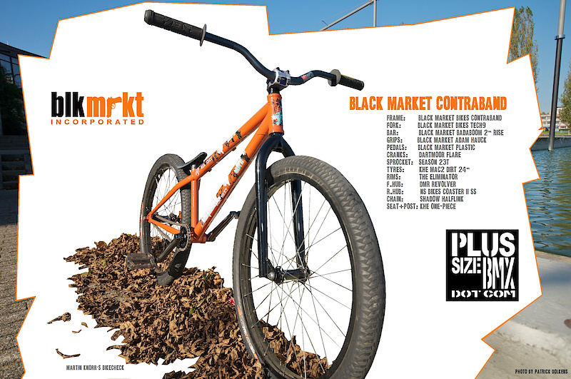 Martin Knorr\'s Contraband Review | blackmarketbikes