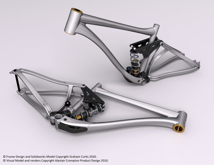 Awesome looking DH frame!. | Ridemonkey Forums