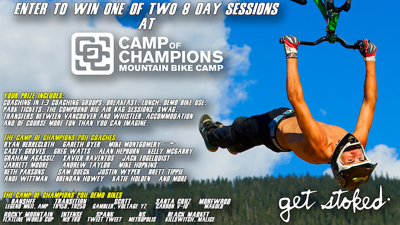 1 Week at Camp of Champions!