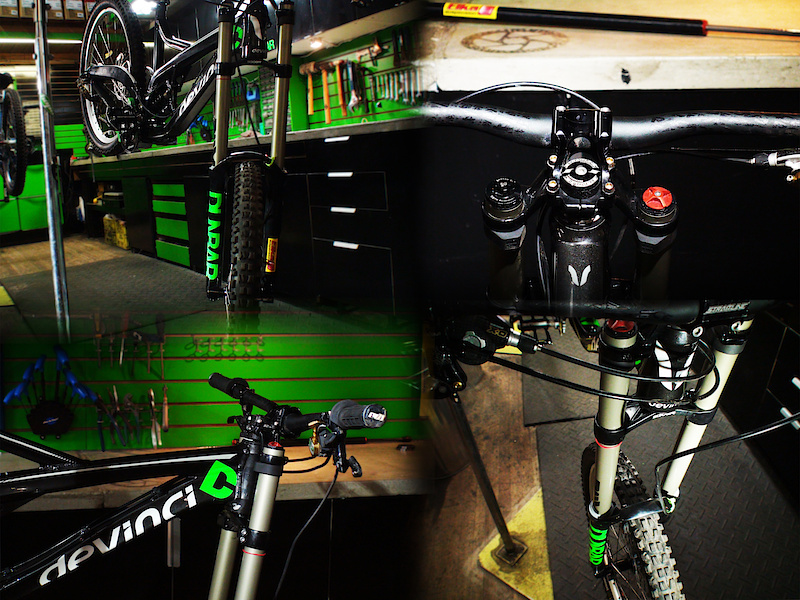 We installed the Stage 4 cartridge inside a BoXXer  chassis and hung it off the front of a 2011 Devinci Wilson for  testing<br><br><br> <span  style='font-size:19px'>Claimed benefits:</span>  <br><br>- Pressurized system provides very responsive ride  and faster damping action upon transition from compression to  rebound<br>- Easy to set with wide range of adjustment to  precisely dial in the front/rear weight transfers<br>- Can be set  to further reduce front-end diving upon braking, g-outs and hard  cornering without losing small bump absorption<br>- Reduces  harshness and vibration over choppy terrain and rough  conditions<br>- Helps reduce rider fatigue by proving smoother  absorption of big impacts and square-edge obstacles<br>- Provides  increased consistency and reliability while extending intervals between  servicing
