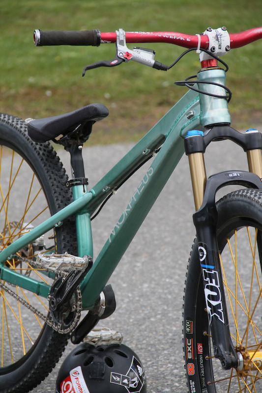 The bike's designer, James Trimble, set out to create a 26-inch-wheeled frame that is as tightly packaged as a 24-inch dirt jumper.