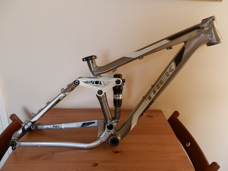 F.S Trek Fuel EX 9 Frame, Fox 32 120mm Forks, cranks, pedals and ...