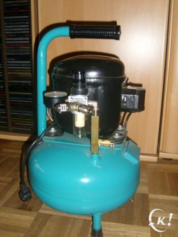Kinzo compressor olie bijvullen