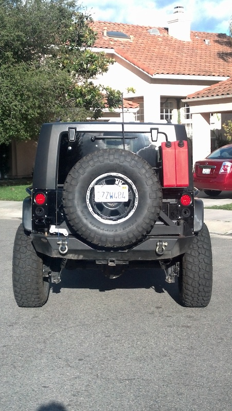 Flush Mounted Rear Taillights Led Jkowners Com Jeep