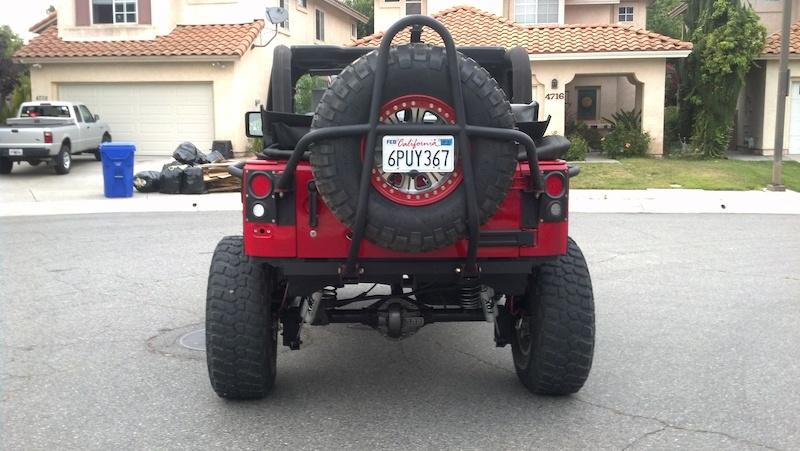 07 Jeep Jk Raceline 37s Rcv Ten Factory Poison Spyder