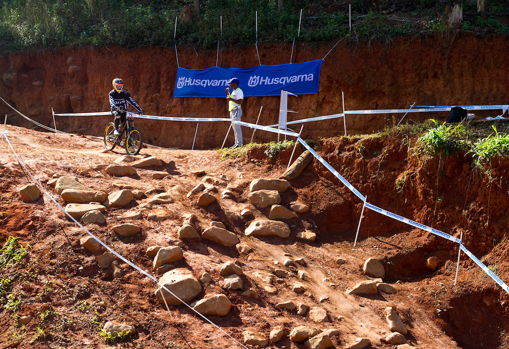The track here in Pietermaritzburg may not have been overly technical, but it had it's moments.