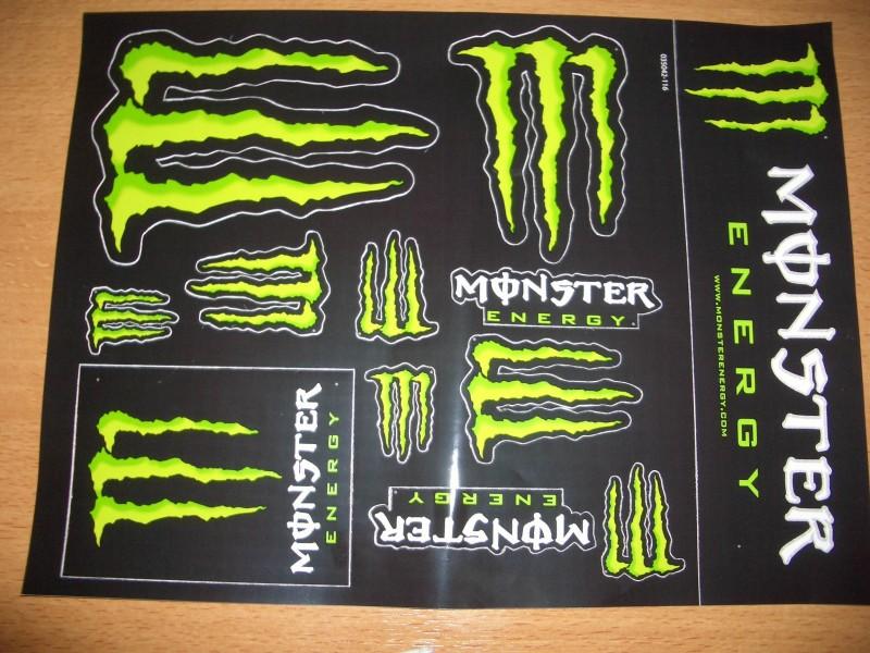 Thepanday Monster Energy Tattoo